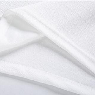 北极绒 Bejirong T恤男2019男士短袖T恤套装个性潮牌运动套装简约时尚款D1600   红色 4XL