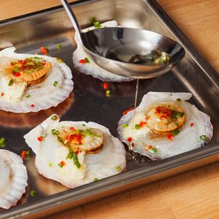 獐子岛 冷冻粉丝扇贝组合装400g 12只 蒜蓉+豆豉 虾夷扇贝 烧烤食材 海鲜水产