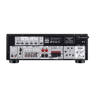 安桥(ONKYO)TX-SR494 家庭影院音响 音箱7.2声道AV功放 进口 杜比全景声 DTS:X 蓝牙优化 Hi-Res