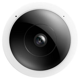 TP-LINK 500万鱼眼无线监控摄像头 360度全景超清红外夜视Wi-Fi手机远程双向语音 智能网络摄像机TL-IPC55A