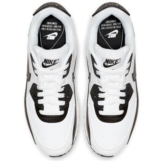 NIKE 耐克 女子 休闲鞋 气垫  AIR MAX 90  运动鞋 325213-139 白色 36.5码
