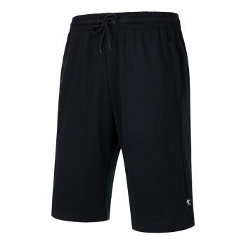 QIAODAN 乔丹 运动裤男跑步短裤针织五分裤男裤 XKS2391579 黑色 190/3XL