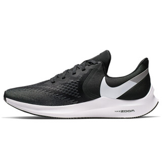 NIKE 耐克 男子 跑步鞋 气垫 ZOOM WINFLO 6 运动鞋 AQ7497-001 黑色 41码