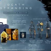 《死亡搁浅(Death Stranding)》 Collector's Edition 典藏版 PlayStation 4(PS4)游戏