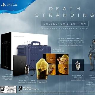 《死亡搁浅(Death Stranding)》 Collector's Edition 典藏版 PlayStation 4(PS4)游戏