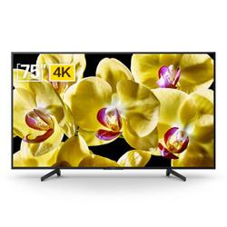 SONY 索尼 KD-75X8000G 75英寸 4K 液晶电视