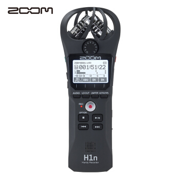 ZOOM H1N 数码录音笔 (黑色)