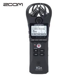 日本ZOOM H1n 黑色 数码录音笔/录音器 麦克风 专业降噪拍摄立体声便携录音设备 乐器学习商务采访