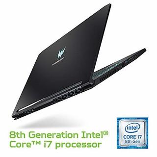 acer 宏碁 Predator Triton 500 15.6英寸游戏笔记本电脑(i7-8750H、RTX 2080 Max-Q、16GB DDR4、512GB SSD、144Hz、G-SYNC)