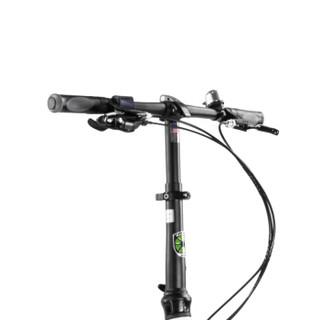 大行(DAHON)折叠自行车 20寸8速双碟刹铝合金架男女款单车KBA083 丽面白