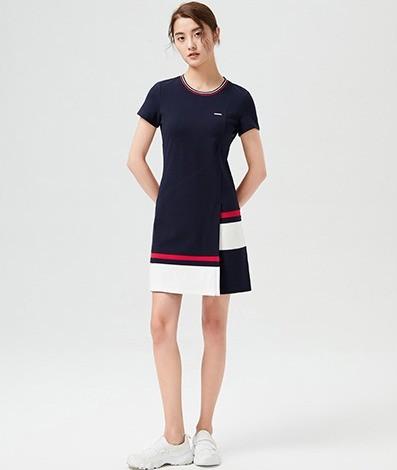 LONSDALE 龙狮戴尔 23622LS5842 女士中长款连衣裙