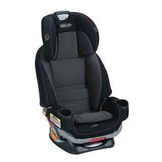 美国进口 GRACO(葛莱) 汽车安全座椅 4EVER E2F 0-12岁 暗紫色 正反安装
