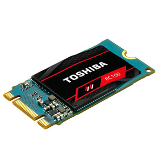 TOSHIBA 东芝 RC100固态硬盘 RC100 固态硬盘 120GB M.2接口 (NVMe协议) RC100 120G