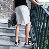 Bejirog 北极绒 短裤男五分沙滩裤运动休闲棉短裤男纯色5分大码男装 M1718