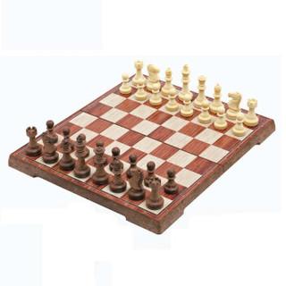 UB 3020L 国际象棋大号 木塑带磁性可折叠便携 入门培训教学用棋