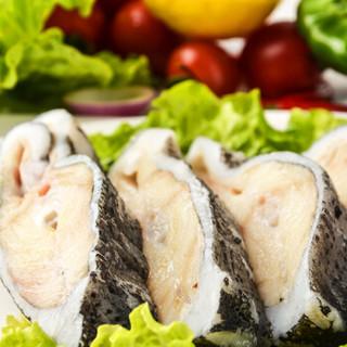 海买 冰岛进口海参斑切段3-5块 斑鱼500g/袋 火锅 海鲜水产