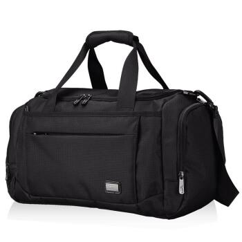 SEPTWOLVES 七匹狼 B0301662-101 旅行包男女多功能大容量旅游包旅行袋行李包手提健身包 黑色B0301662-101