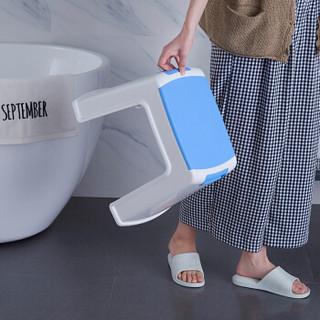 好尔(Hore)凳子 板凳 小凳子 塑料凳子带提手中号蓝色 1个装