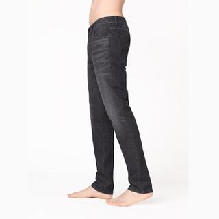 InteRight 轻商务合体修身超弹牛仔裤