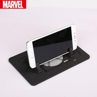 漫威(Marvel)车载手机支架 升级版多功能支架防滑垫/置物垫 带移车电话号码 正版漫威 神盾局款