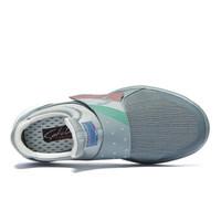 SATCHI 沙驰 潮流运动时尚休闲防滑耐磨健步鞋女鞋M70110 灰色 37