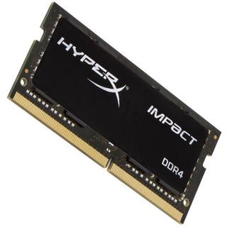 金士顿(Kingston) DDR4 2666 16GB(8G×2)套装 笔记本内存 骇客神条 Impact系列