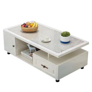 雅美乐 茶几 现代简约欧式钢化玻璃茶几 客厅茶桌茶几 YCJS89