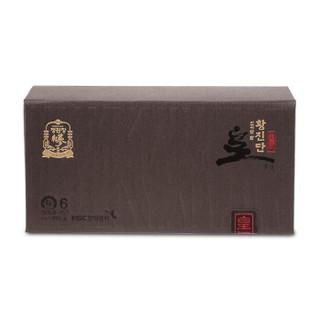 韩国进口 正官庄高丽参红参地参 皇真丹礼盒 4g*3丸  送礼礼盒