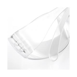 3M护目镜11228防护眼镜 防冲击 经济型无框眼镜 10副装