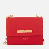 TED BAKER Juliah Concertina Mini 女款小牛皮斜挎包