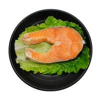 京东PLUS会员:美威 智利轮切三文鱼排 (大西洋鲑)400g/袋 2-3片 富含Ω3 海鲜水产 *5件