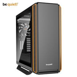 德商必酷(be quiet!)SILENT BASE 801 侧透版 橙色机箱(模块化设计/快拆式侧板/静音材料)