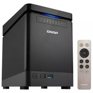 QNAP 威联通 TS-453Bmini 四盘位NAS网络存储(J3455、4GB内存)
