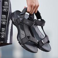 SKECHERS 斯凯奇 54269 男鞋凉鞋 (黑色 灰色、41)