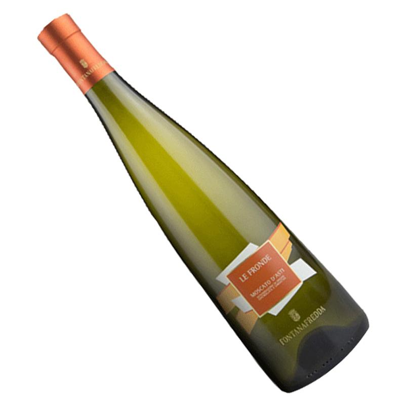 意大利进口小甜水 泉妃莫斯卡托阿斯蒂低醇甜白低泡葡萄酒 750ml 单瓶装 *2件