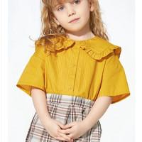 Balabala 巴拉巴拉 儿童纯棉短袖衬衣