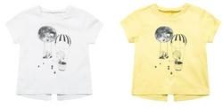 maxwin 马威 女小童短袖T恤