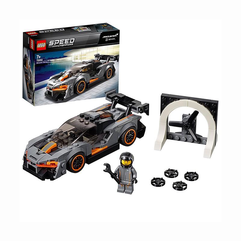 有券的上 : LEGO 乐高 Speed超级赛车系列 75892 迈凯伦塞纳 +凑单品