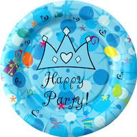 美琳 MLPU3004PT 一次性生日蛋糕餐盘