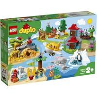 LEGO 乐高 得宝系列 10907 环球动物(新款 )