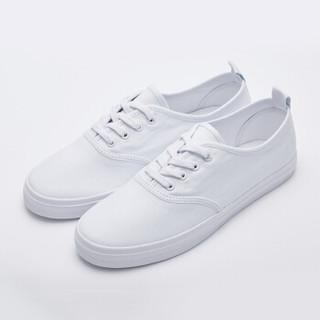 InteRight 女士纯色休闲帆布鞋 *3件
