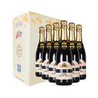 澳大利亚进口 芭翠提纯黑无醇气泡酒葡萄汁起泡饮料750ml*6瓶彩盒装
