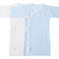 PurCotton 全棉时代 长款纱布婴儿服礼盒装 2件装