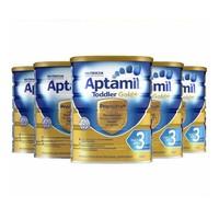Aptamil 澳洲爱他美婴幼儿配方奶粉 金装版3段 900g 2021年8月到期 *5件