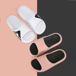PEAK 匹克 态极 E92038L 男女款拖鞋  大白/黑色(男款) 44
