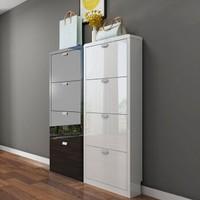 YIMILOVE 一米爱 烤漆薄款门厅柜家具 单个4层鞋柜