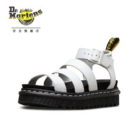 Dr.Martens 马丁大夫 Blaire 23806001 时尚罗马凉鞋 (白色、37码)