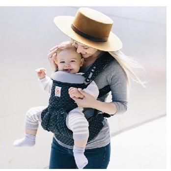 ergobaby 婴儿背带omni全阶段四季通用款 4种背法抱婴带 黑色几何 0-48个月