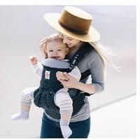 Ergobaby Omni 全阶段型四式360婴儿背带 黑色几何款 +凑单品