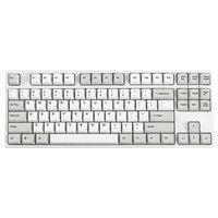 GANSS 高斯 87 机械键盘全键无冲突 (红轴、白色、RGB、多模、87)